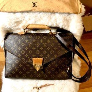 Authentic GORGEOUS Louis Vuitton Briefcase